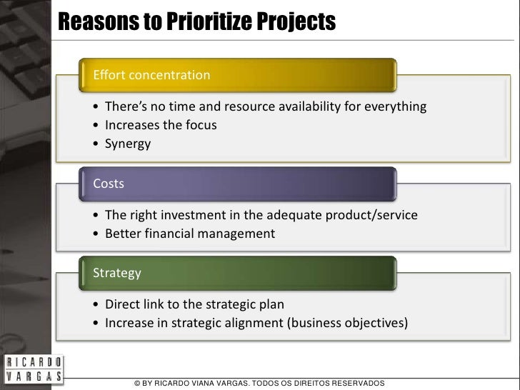 Examples Of Project Prioritization Criteria