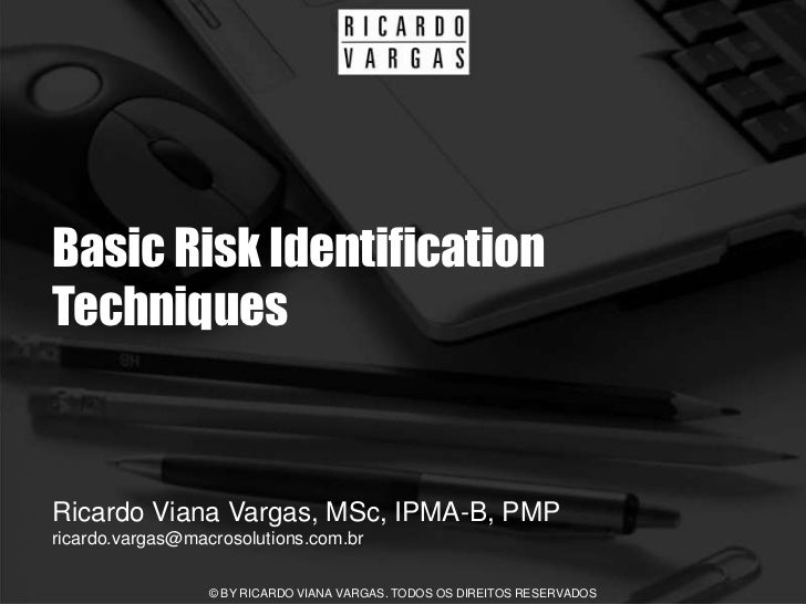 Basic Risk Identification Techniques