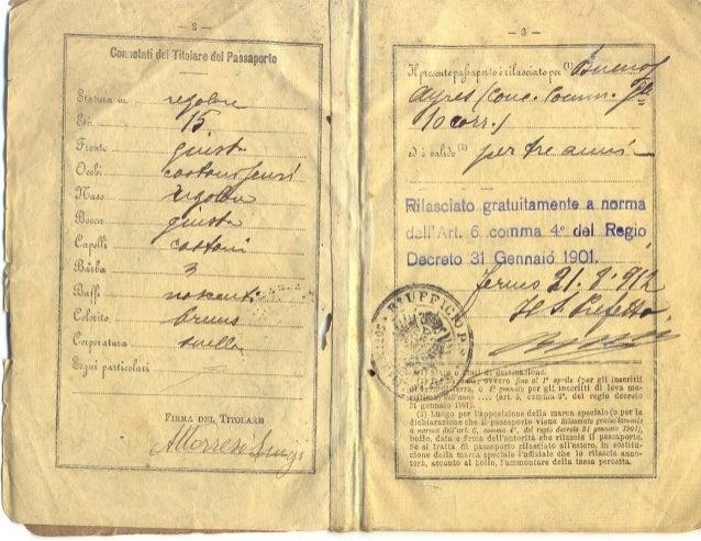 Il documento di identità tra storia moderna e contemporanea.