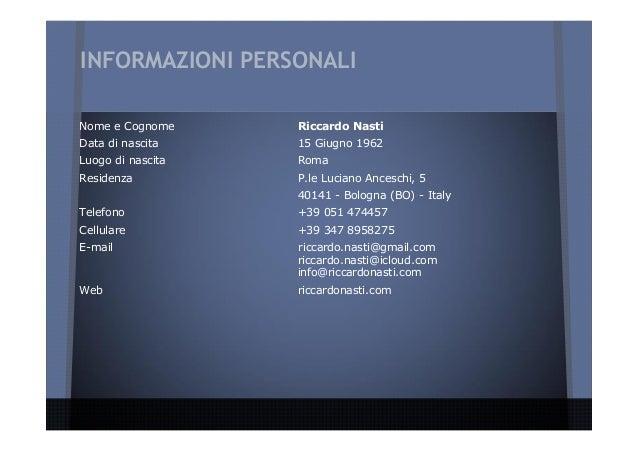 profilo personale