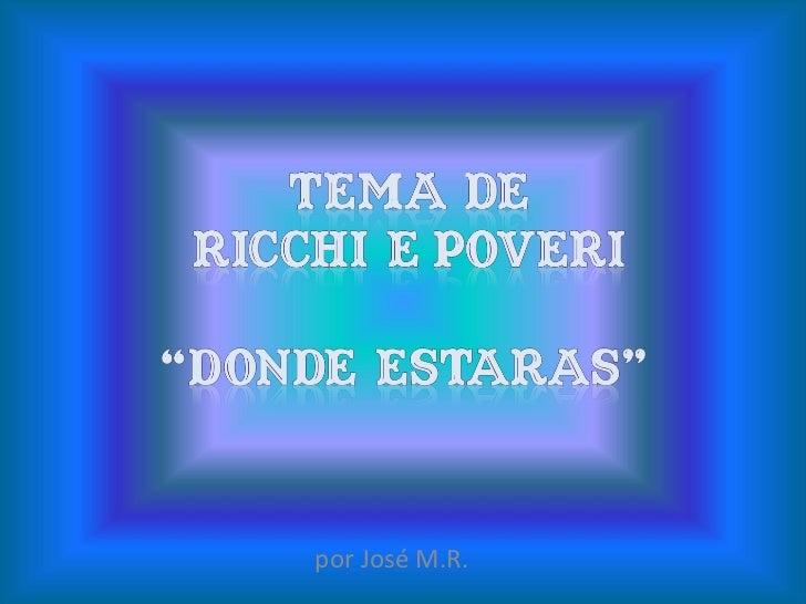 por José M.R.