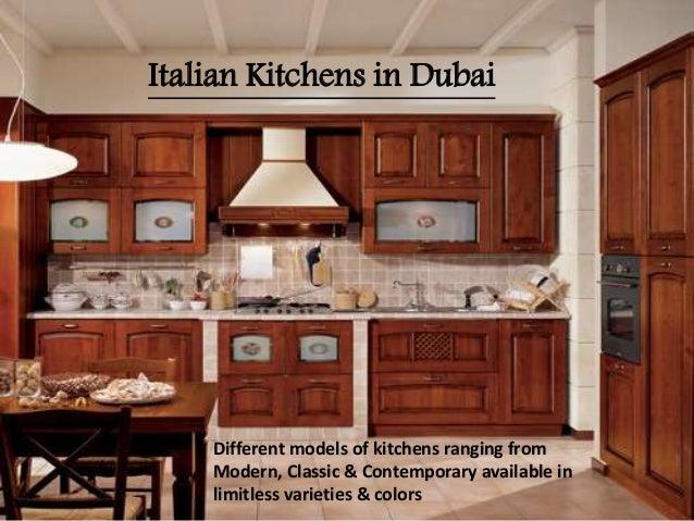 Modular kitchens in Dubai