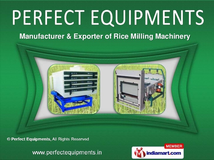 Manufacturer & Exporter of Rice Milling Machinery