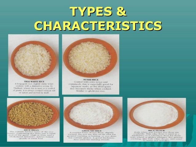 TYPES &TYPES & CHARACTERISTICSCHARACTERISTICS