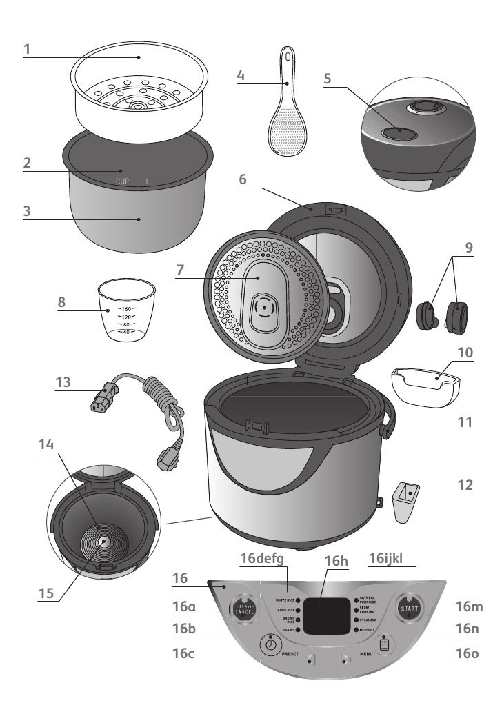 Tefal Rice Cooker 8 In 1 Manual