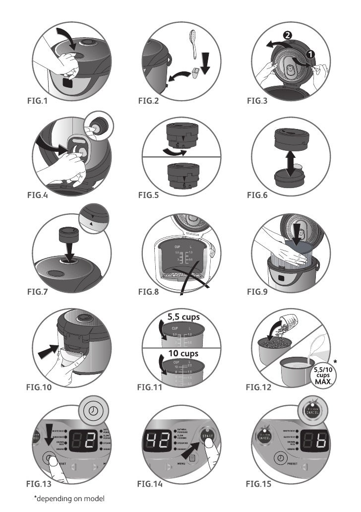 Tefal Rice Cooker 8 In 1 Manual