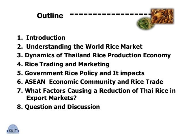 Rice trade and industry november 5 2013