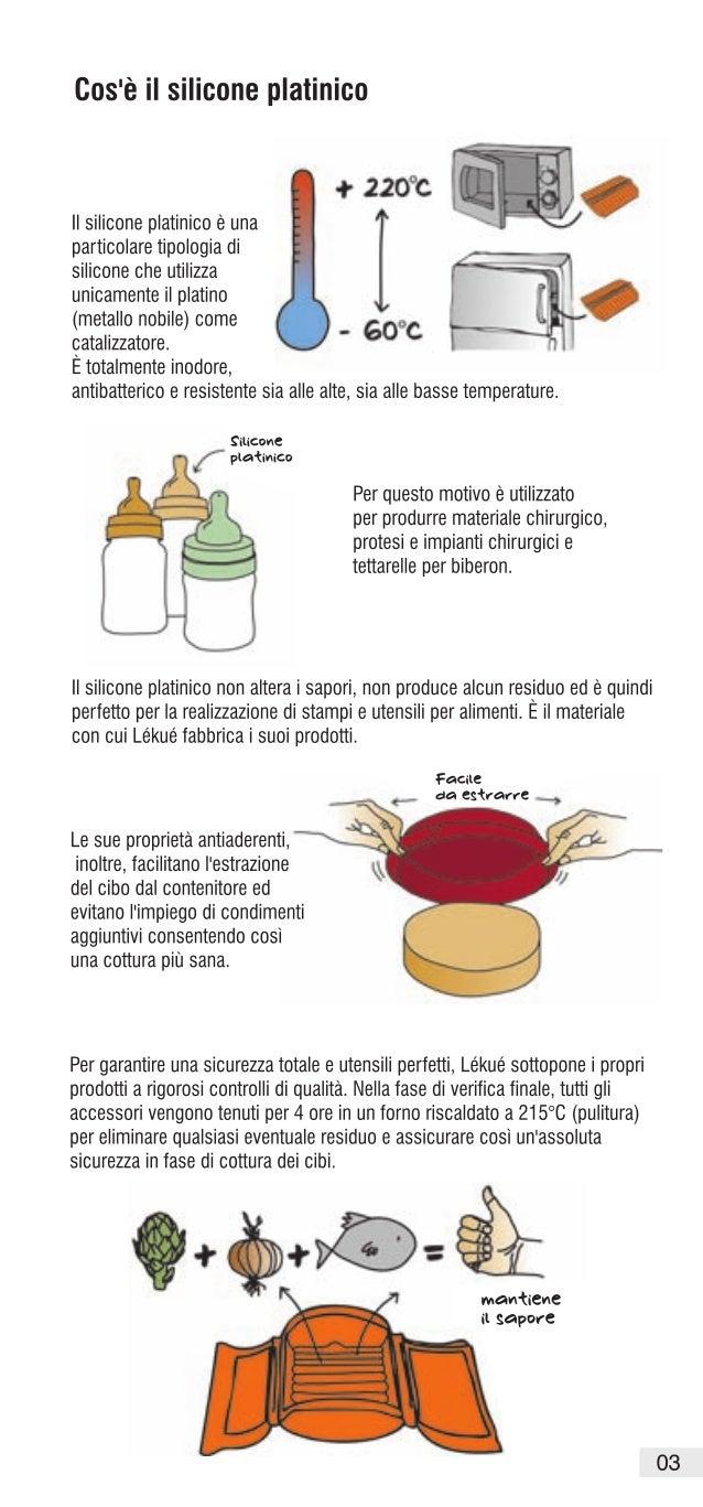 Riccette di Lékué per Forno e Microonde