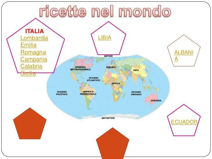 ITALIALombardia   LIBIAEmiliaRomagna             ALBANICampania            ACalabriaSicilia                    ECUADOR