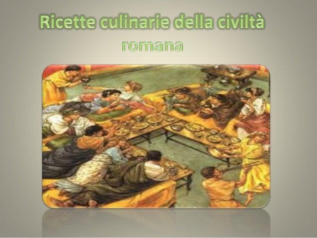 Ricette della civilt romana for Ricette roma antica