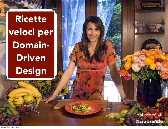 Ricette       veloci per        Domain-         Driven        Design                      dal menù di                     ...