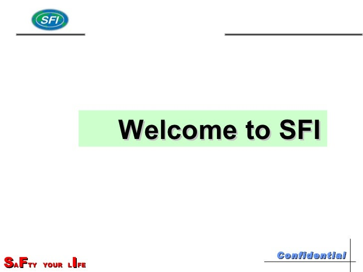 Welcome to SFI