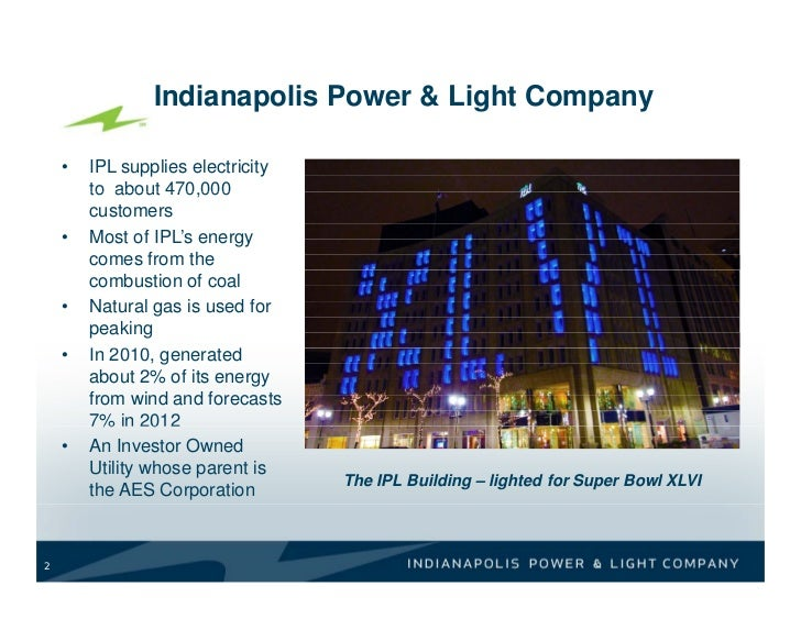 Indianapolis Power U0026 Light Company ...