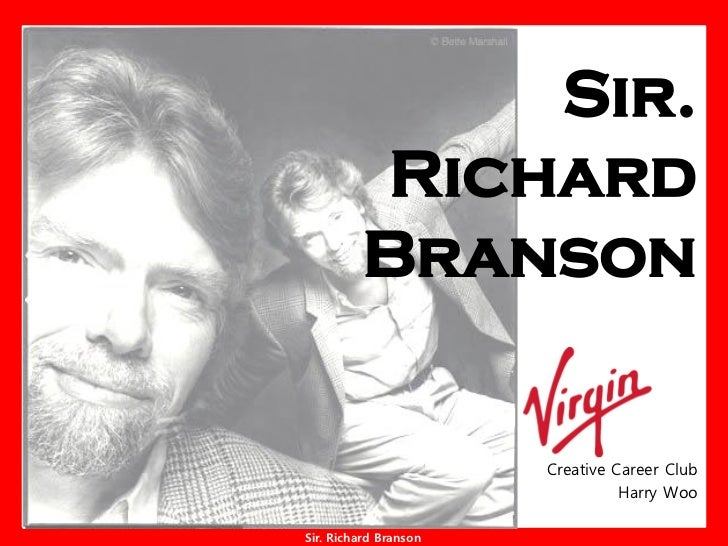 Sir.          Richard          Branson                         Creative Career Club                                  Harry...