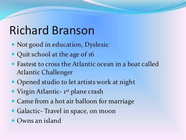 Richard Branson/Virgin