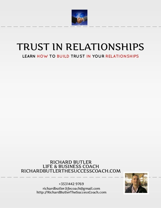 the importance of trust in a relationship