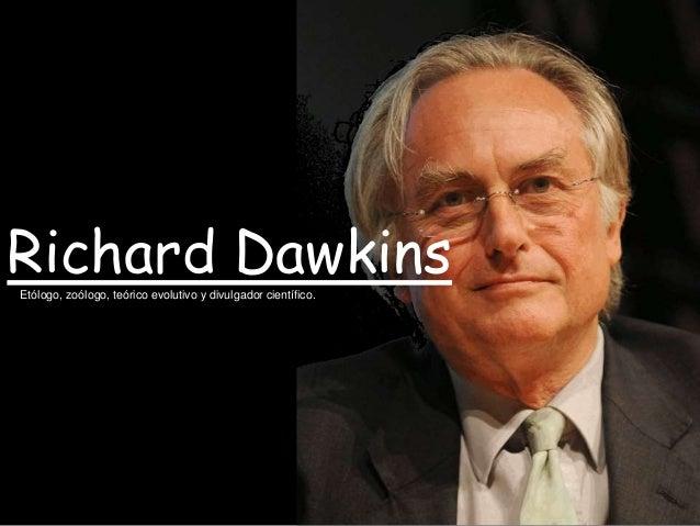 Resultado de imagen para Richard Dawkins