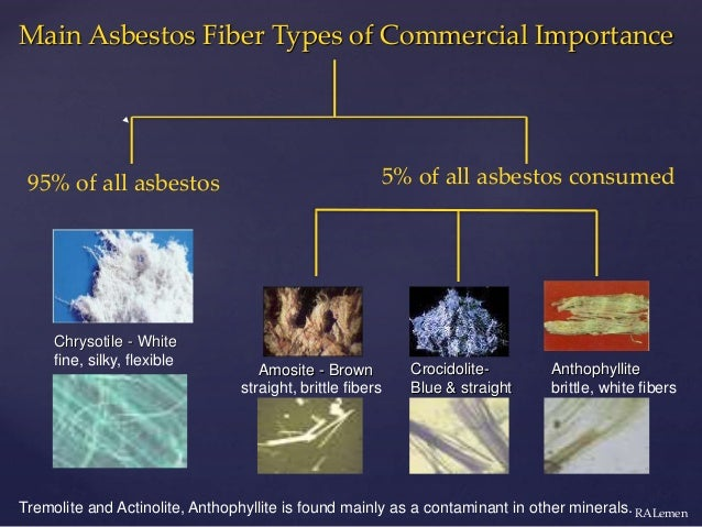 Dr. Richard Lemen: What you should know about asbestos