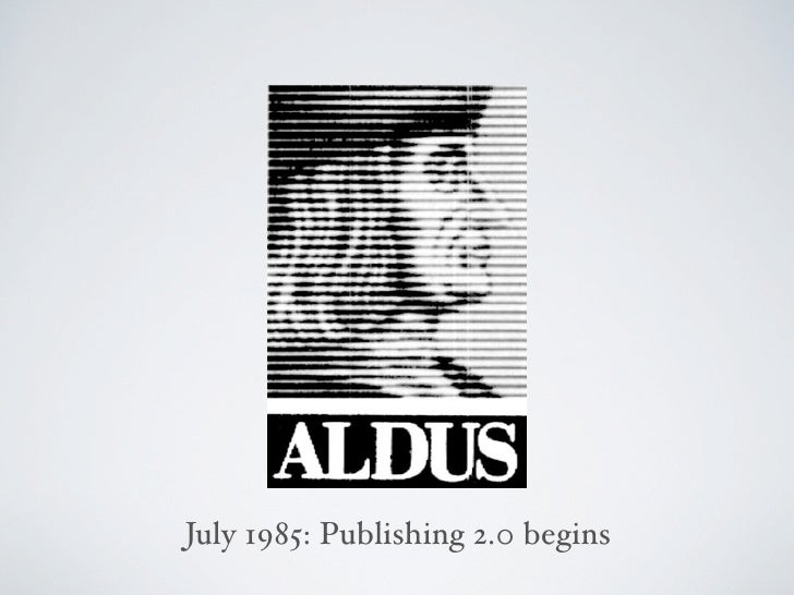 July 1985: Publishing 2.0 begins