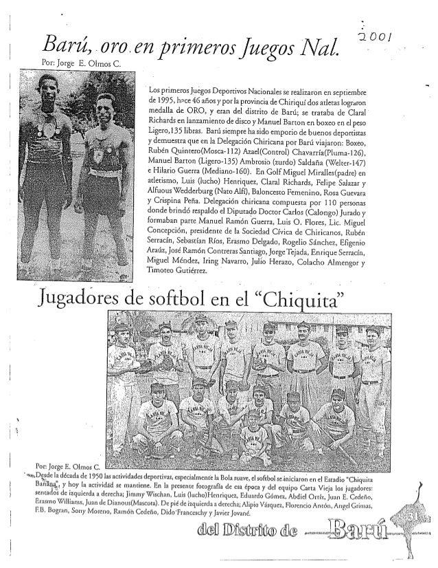 R ichards   baseball natl games clippings 2001