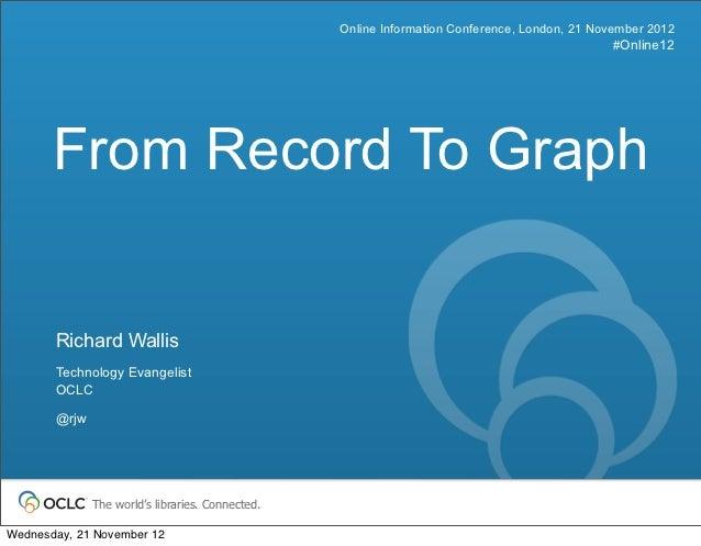 Online Information Conference, London, 21 November 2012                                                                   ...