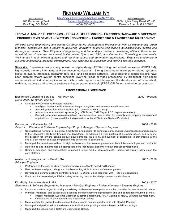 simulation engineer resume
