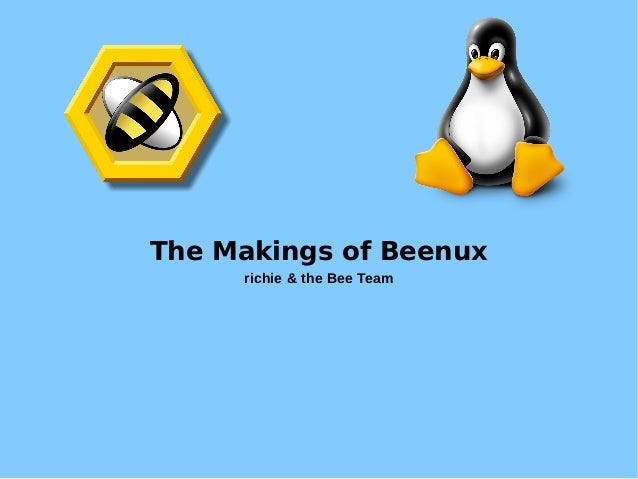 The Makings of Beenux richie & the Bee Team