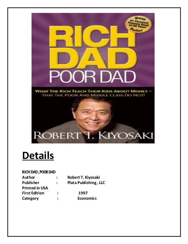 Rich Dad Poor Dad Book For