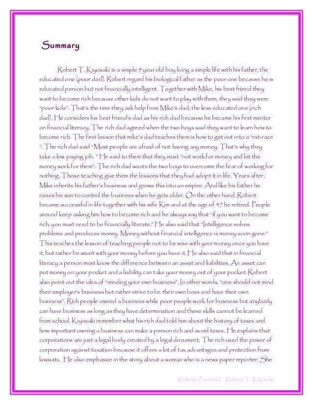 rich dad poor dad book free pdf