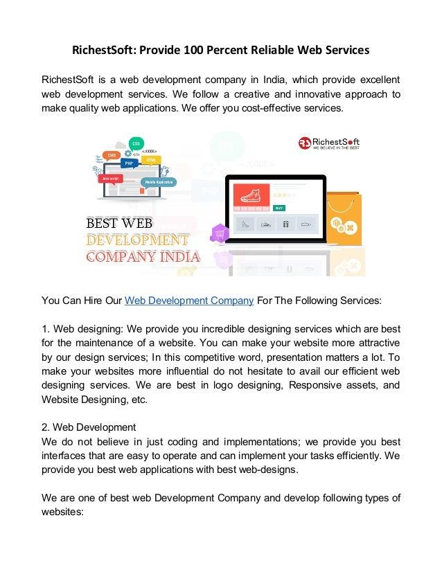 Richest websites