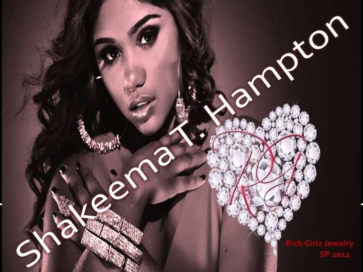 Rich Girlz Jewelry         SP 2012