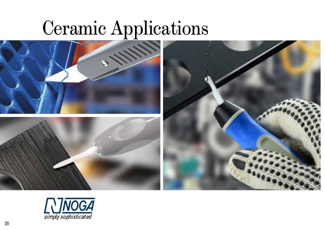 NOGA Ceramic Deburring Tool Set Mfg Number CR2000
