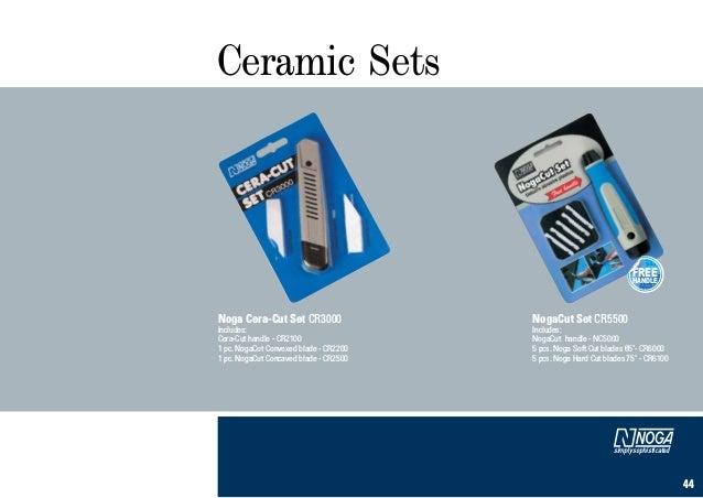 Noga CR2000 Ceramic Deburring Tool for Plastics//Soft Metals