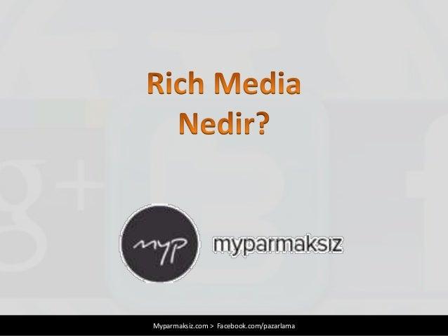 Myparmaksiz.com > Facebook.com/pazarlama