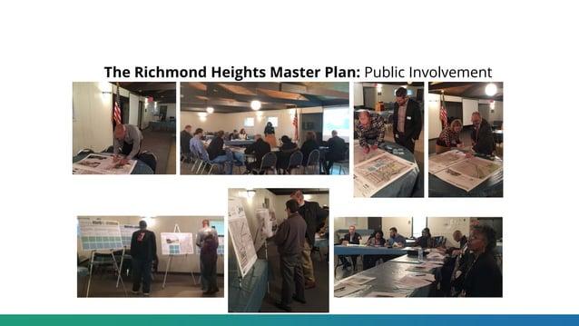 The Richmond Heights Master Plan: Public Involvement
