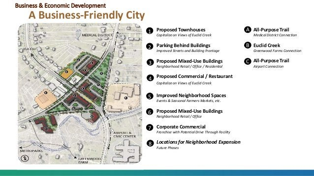 Business & Economic Development A Business-Friendly City 1 2 3 4 5 6 7 8 Proposed Townhouses Capitalize on Views of Euclid...