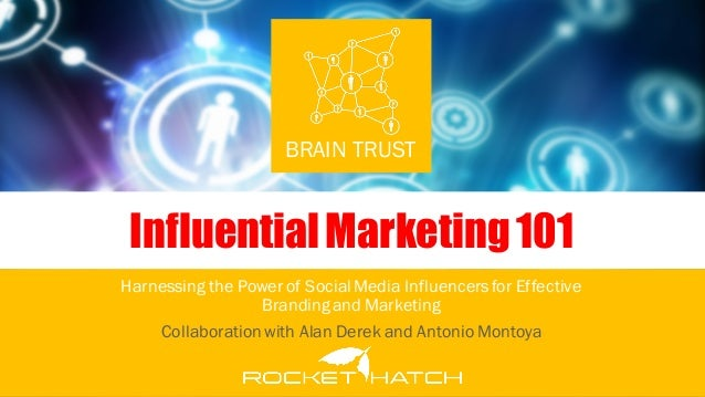 Influential Marketing 101 by Rich Ortiz - ONE Unity Media