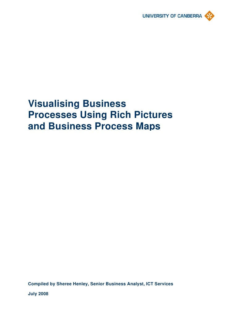 Visualising Business Processes Using Rich Pictures and Business Process Maps     Compiled by Sheree Henley, Senior Busines...