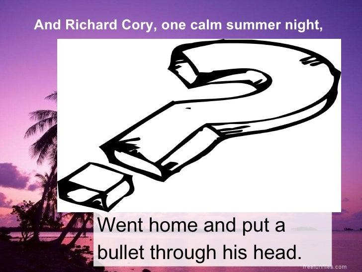 richard cory meaning