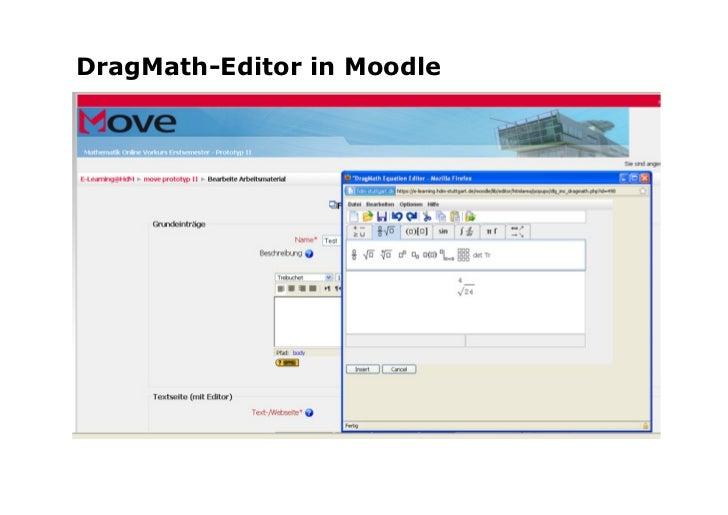 Tutor nutztMathe-Editor               Anne Rickert, E-Learning CC   20