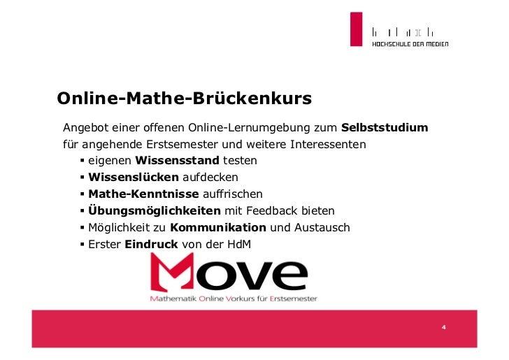 Online-Mathe-BrückenkursAngebot einer offenen Online-Lernumgebung zum Selbststudiumfür angehende Erstsemester und weitere ...