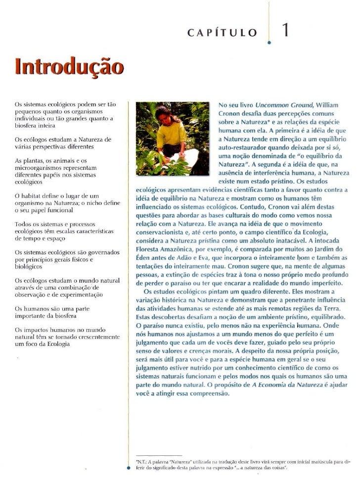 C A P I T U LO                                 1 Introdução Os sistemas ecológicos podem ser tão                          ...