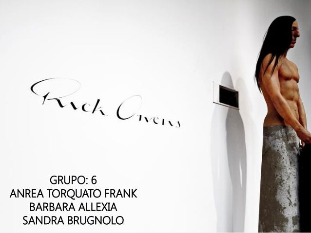 GRUPO: 6 ANREA TORQUATO FRANK BARBARA ALLEXIA SANDRA BRUGNOLO