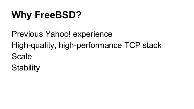 600M+ Unsuspecting FreeBSD Users (MeetBSD California 2014)
