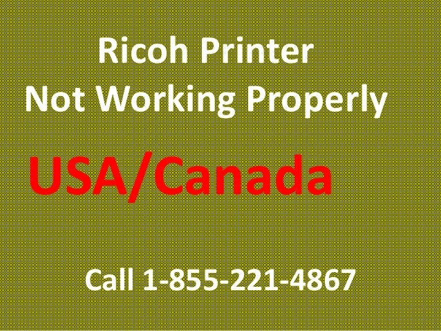 Ricoh Printer Tech Support Number#1-855-221-4867|$#!!%@#Ricoh Printer…