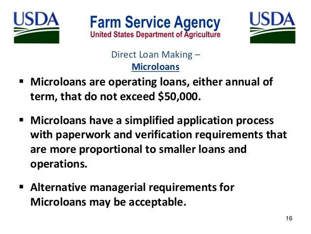 USDA Farm Service Agency: Beginning Farmer Loan Programs