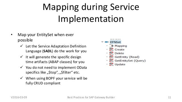 Daniel Ridder Best Practices SAP Gateway Builder