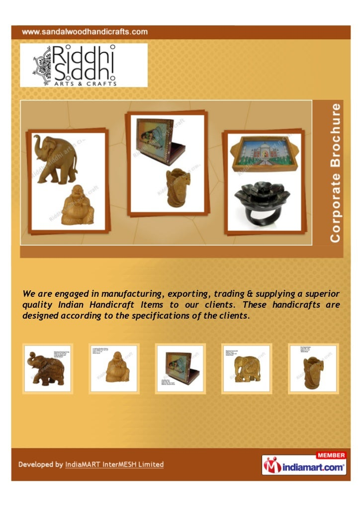 """""""Exporting, supplying & manufacturing wooden handicraft, photo frame,candle stand, wall hanging frame, god idol statues, s..."""