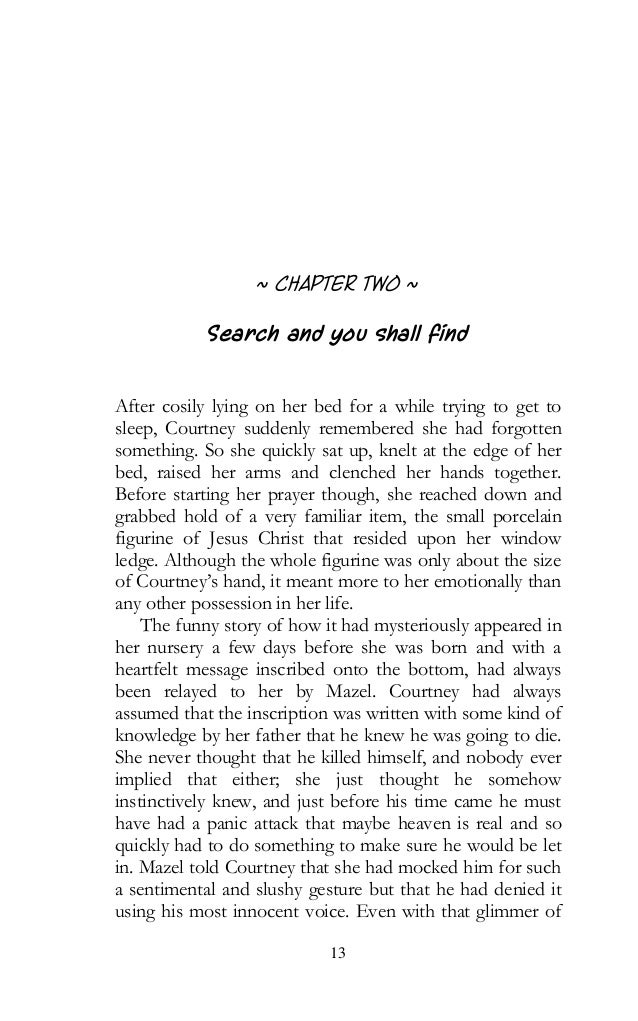english essay horror story