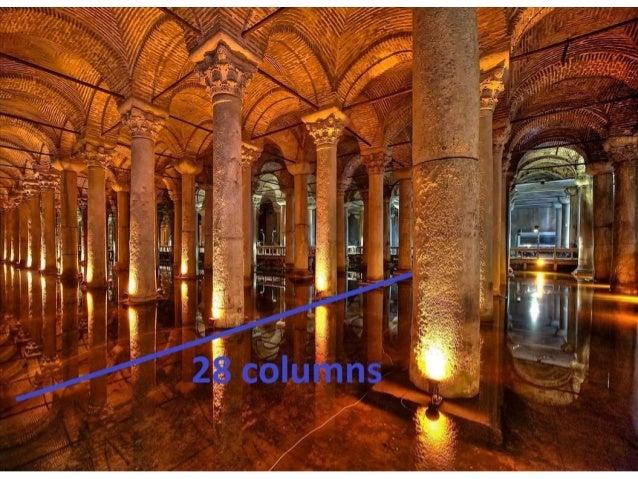 HOW MANY CUBIC METERS OF WATER THE CISTERN CAN STORE? RIDDLE :